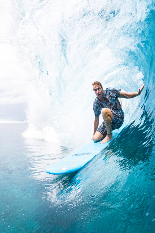 High jinks in Teahupo'o