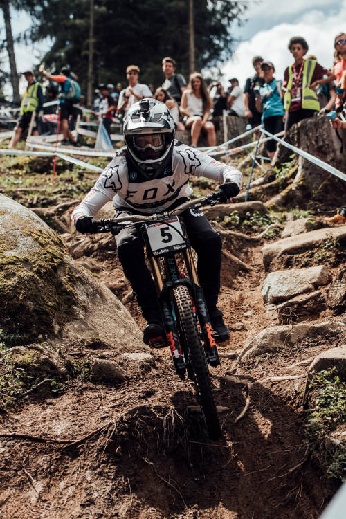 Men's DH 2nd place run – Val di Sole