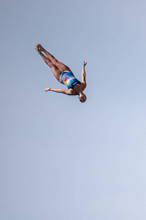 Women's winning dive – Italy