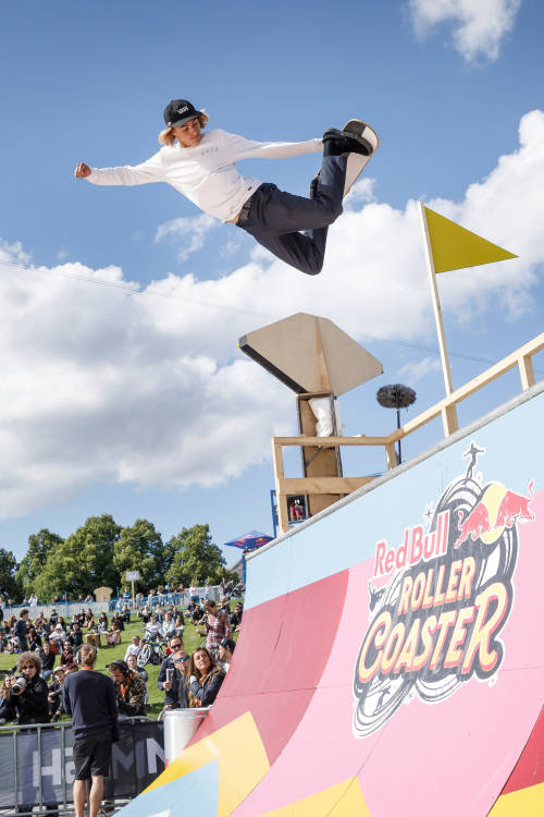 Curren Caples at Red Bull Roller Coaster