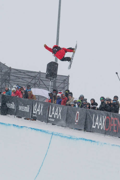 Women's halfpipe – Cai's 2nd-place run