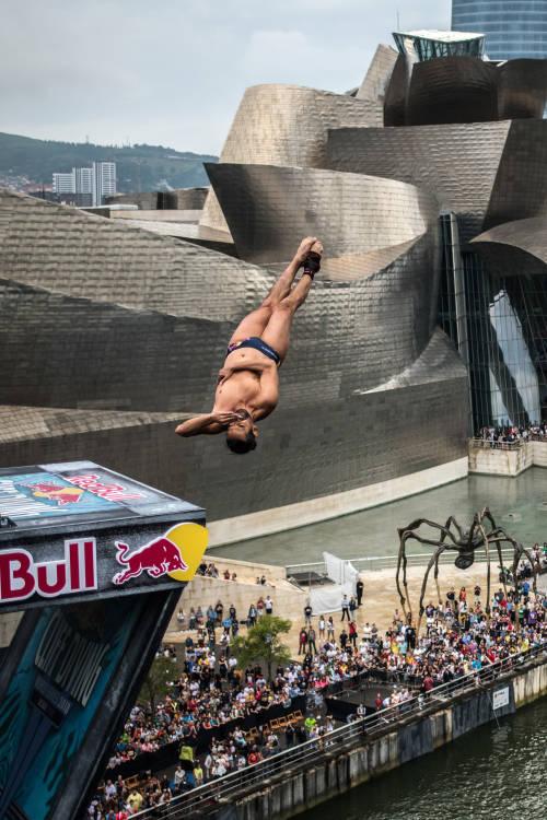Orlando Duque's best dive – Bilbao