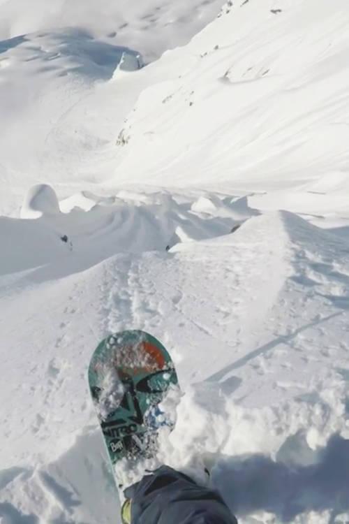Victor de Le Rue – Snowboarding POV II