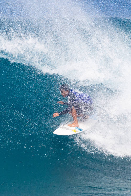 Keanu Asing's best wave of round 4