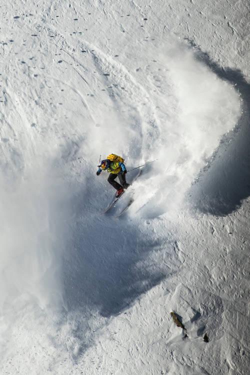 Arianna Tricomi's POV ski run – Verbier