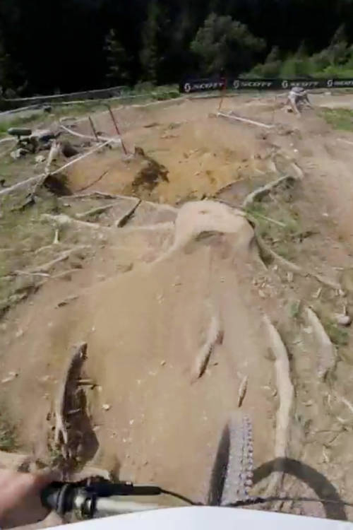 Laurie Greenland's POV run at Leogang