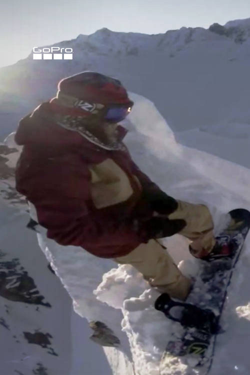 Travis Rice vs A Cornice