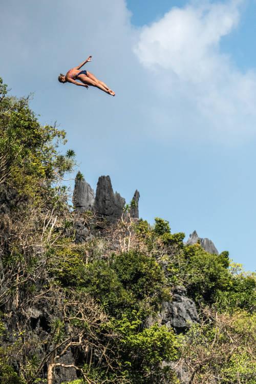 Rhiannan Iffland's winning dive – El Nido
