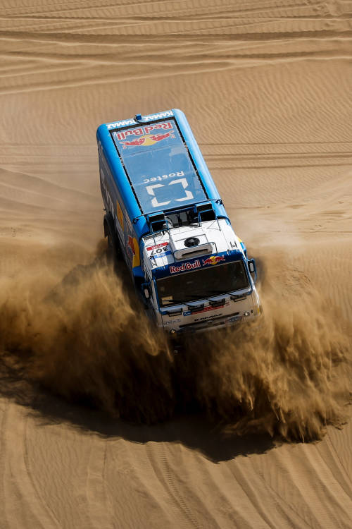 Team Kamaz wants another win