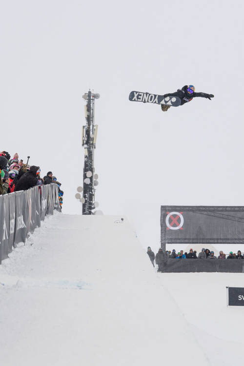 Women's halfpipe – Castellet's 3rd-place run